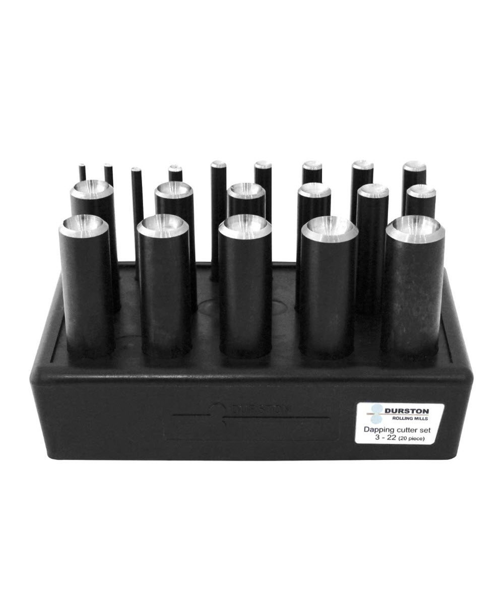 Dapping Texturing Punch Cutter Set Durston Tools