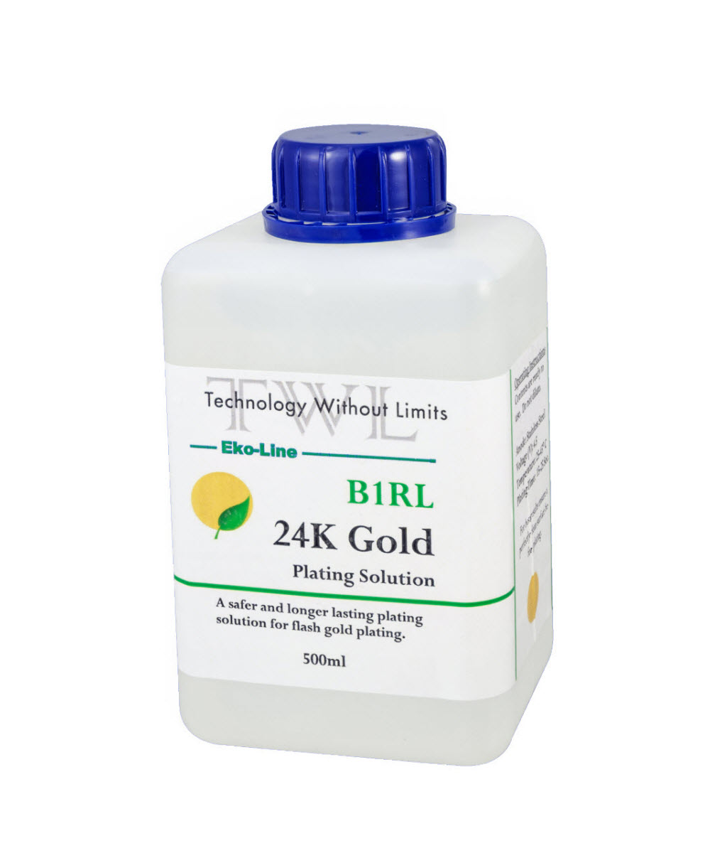 B1RL 24k Gold Plating Solution 500 ml  Eko-line